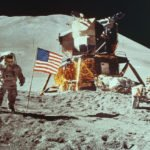 Nasa Moon Landing image